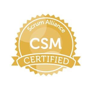 certificação csm